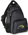 Southern Miss Backpack Cross Body Style Gray