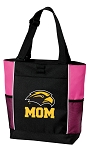 Southern Miss Mom Tote Bag Pink