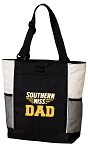 Southern Miss Dad Tote Bag White Accents