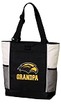 Southern Miss Grandpa Tote Bag White Accents