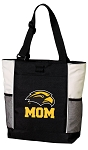 Southern Miss Mom Tote Bag White Accents