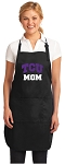 Official Texas Christian University Mom Apron Black