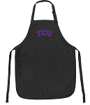 Official Texas Christian Apron Black