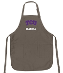 Official TCU Grandma Apron Tan