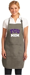 Official TCU Mom Apron Tan