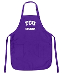 Deluxe Texas Christian University Grandma Apron MADE in the USA!