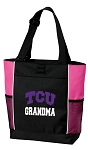 Texas Christian University Grandma Tote Bag Pink