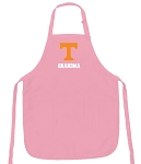 Deluxe University of Tennessee Grandma Apron Pink - MADE in the USA!