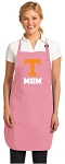 Deluxe University of Tennessee Mom Apron Pink - MADE in the USA!