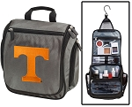 Tennessee Vols Toiletry Bag or University of Tennessee Shaving Kit Organizer for Him Gray