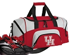 SMALL UH Gym Bag University of Houston Duffle Red