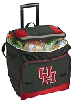 University of Houston Rolling Cooler Bag Red