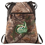 UNCC RealTree Camo Cinch Pack