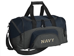 SMALL Naval Academy Gym Bag USNA Navy Duffle Navy