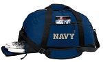 Naval Academy Gym Bag - USNA Navy Duffel BAG with Shoe Pocket
