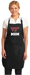 Official Virginia Tech Mom Apron Black