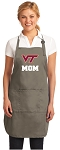 Official Virginia Tech Mom Apron Tan