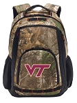 Virginia Tech RealTree Camo Backpack