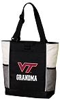 Virginia Tech Grandma Tote Bag White Accents