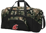 Official Washington State University Camo Duffel Bags