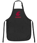 Official Washington State University Grandma Apron Black