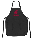 Official Washington State University Grandpa Apron Black