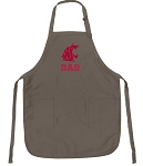 Official Washington State Dad Apron Tan