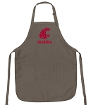 Official Washington State Grandma Apron Tan
