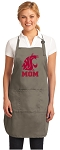 Official Washington State Mom Apron Tan