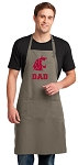 Washington State Dad Large Apron Khaki
