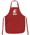 Official Washington State University Dad Aprons