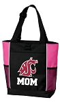 Washington State University Mom Tote Bag Pink