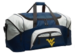 Large West Virginia University Duffle WVU Duffel Bags
