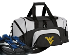 Small West Virginia University Gym Bag or Small WVU Duffel