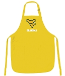 Deluxe West Virginia University Grandma Apron - MADE in the USA!