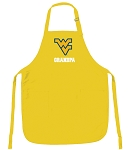 Deluxe West Virginia University Grandpa Apron - MADE in the USA!