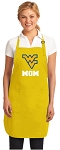 Deluxe West Virginia University Mom Apron - MADE in the USA!