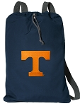 Tennessee Vols Cotton Drawstring Bag Backpacks Cool Navy