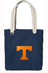 Tennessee Vols Tote Bag RICH COTTON CANVAS Navy