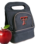 Texas Tech Lunch Bag Black