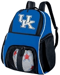 University of Kentucky Soccer Backpack or Kentucky Wildcats Volleyball Practice Bag Boys or Girls Blue