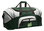 Large UNCC Duffle Bag Green