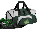 SMALL UNCC Gym Bag University of North Carolina Charlotte Duffle Green