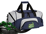 SMALL UNCC Gym Bag University of North Carolina Charlotte Duffle Navy