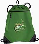 UNCC Drawstring Backpack Mesh and Microfiber