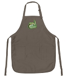Official University of North Carolina Charlotte Logo Apron Tan