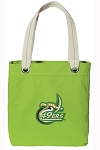 UNCC Tote Bag RICH COTTON CANVAS Green