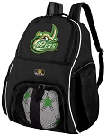 UNCC Soccer Backpack or University of North Carolina Charlotte Volleyball Bag For Boys or Girls