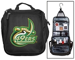 UNCC Toiletry Bag or University of North Carolina Charlotte Shaving Kit Travel Organizer for Men
