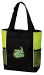 UNC Charlotte Tote Bag COOL LIME